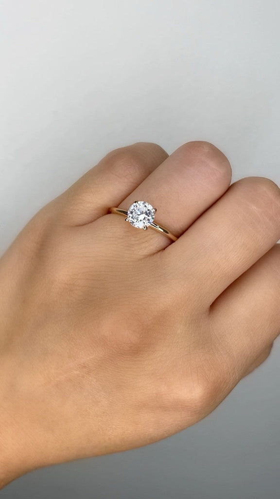 Engagement Ring Special 0.94 Round Brilliant - Happy Jewelers Fine Jewelry Lifetime Warranty