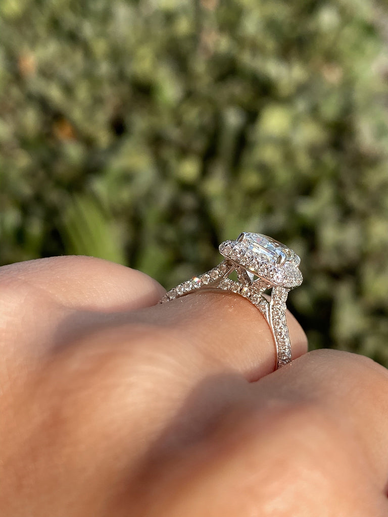 Engagement Ring Wednesday 2.05 Radiant Cut Diamond - Happy Jewelers Fine Jewelry Lifetime Warranty