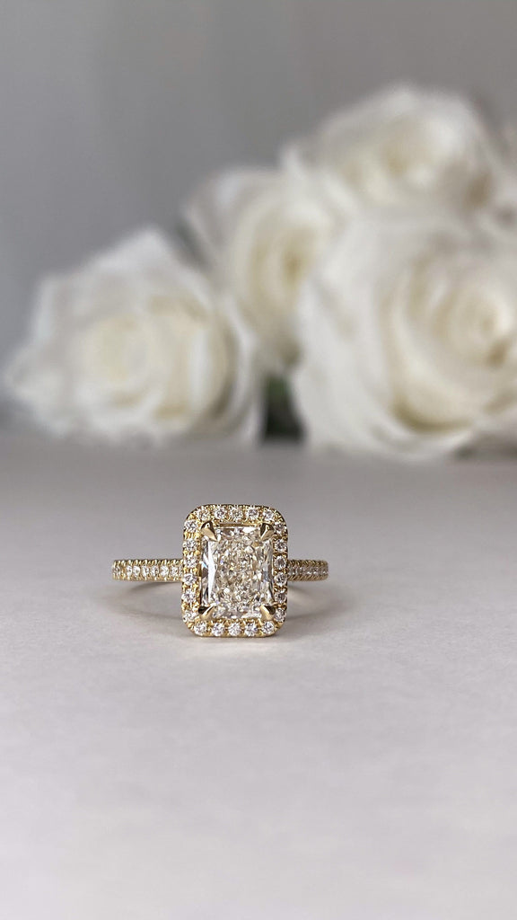 Engagement Ring Wednesday | 1.51 Carat Radiant Cut Diamond - Happy Jewelers Fine Jewelry Lifetime Warranty