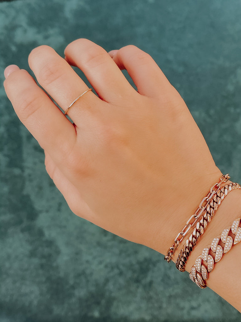 5.00mm Miami Cuban Bracelet - Happy Jewelers Fine Jewelry Lifetime Warranty