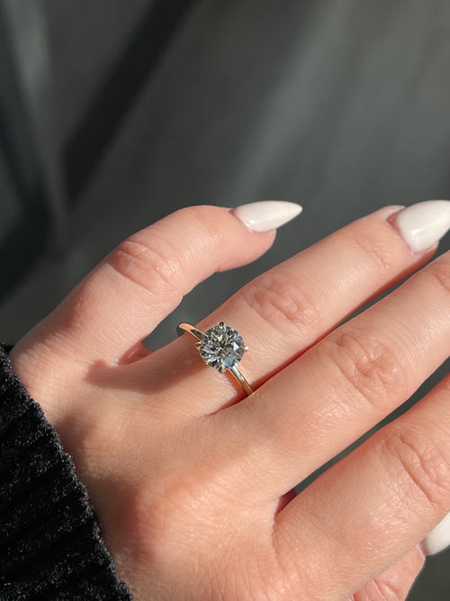Engagement Ring Wednesday | 1.52 Round J color VVS1 clarity - Happy Jewelers Fine Jewelry Lifetime Warranty