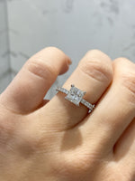 Engagement Ring 1.01 Princess Cut Diamond - Happy Jewelers Fine Jewelry Lifetime Warranty