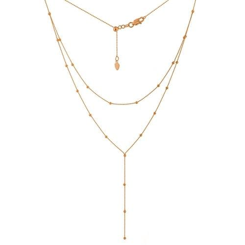 Layer Style Necklace - Happy Jewelers Fine Jewelry Lifetime Warranty
