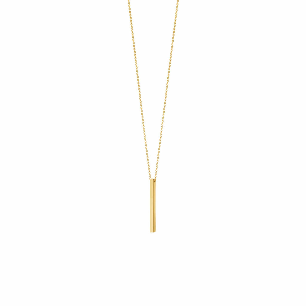 Vertical Bar Necklace - Happy Jewelers Fine Jewelry Lifetime Warranty