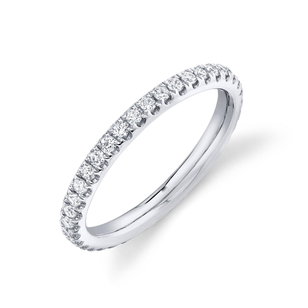 2.4mm Diamond Eternity Wedding Band - Happy Jewelers Fine Jewelry Lifetime Warranty