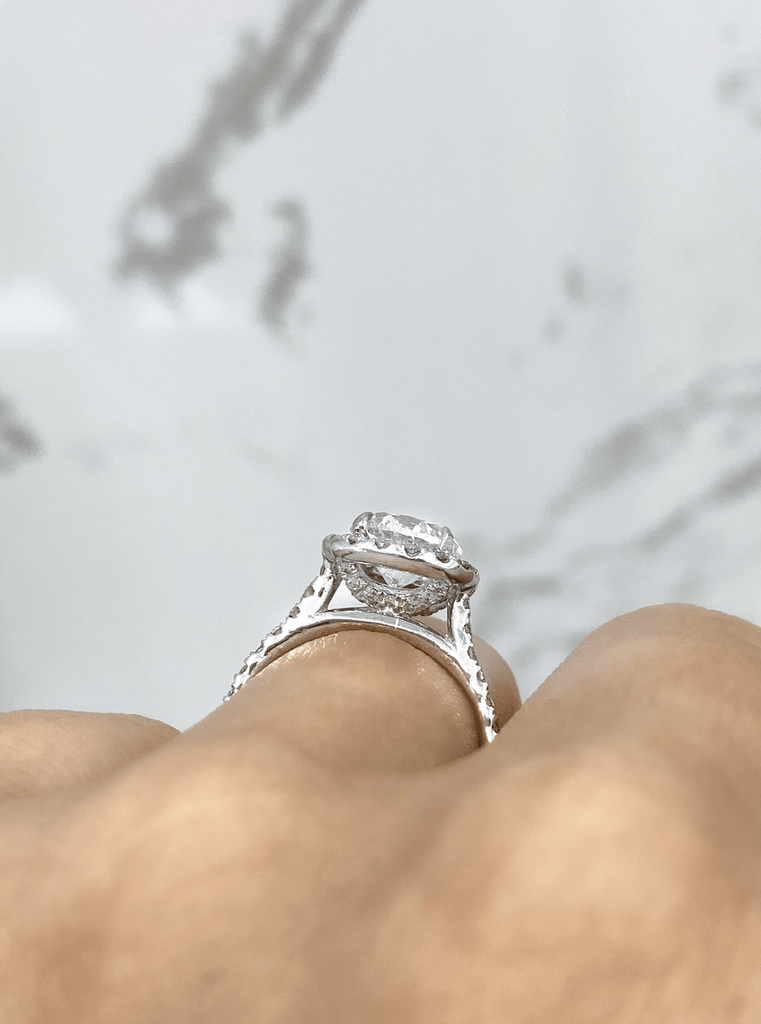 Engagement Ring  1.51 Round Brilliant Diamond - Happy Jewelers Fine Jewelry Lifetime Warranty