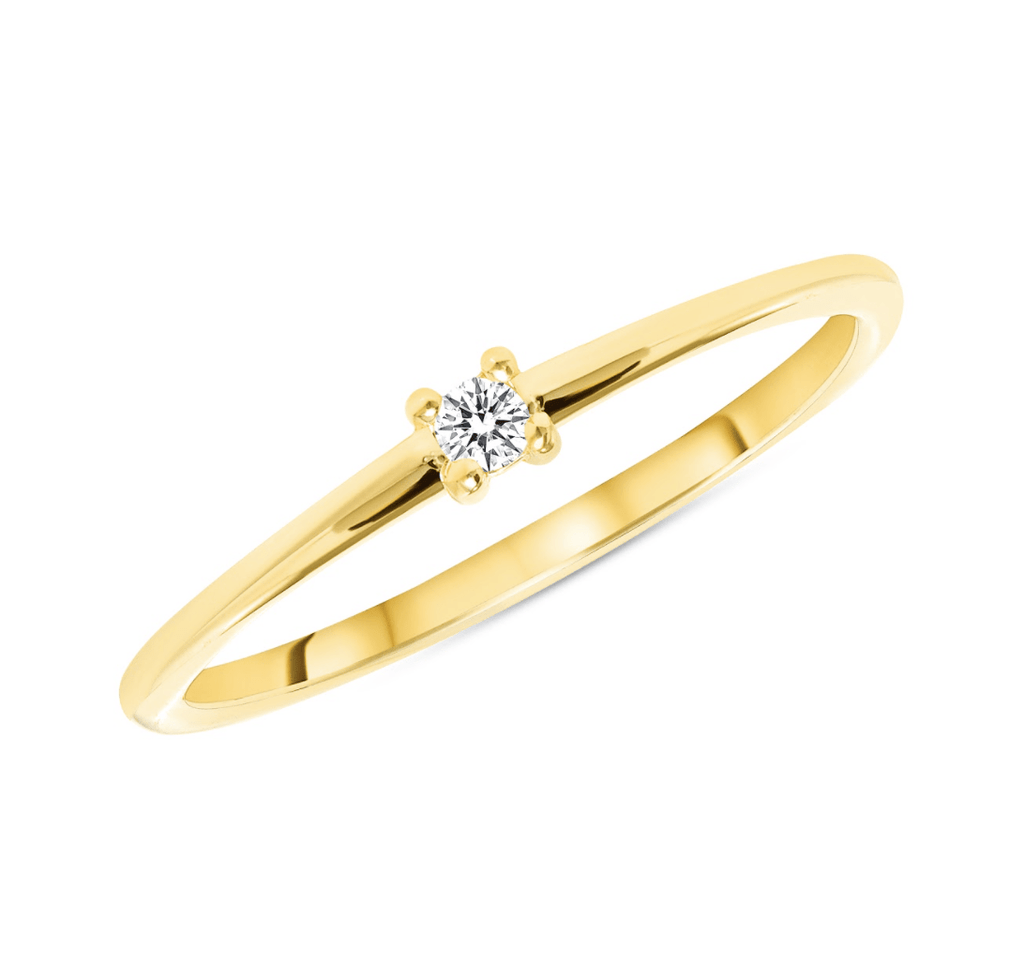 Aster Single Diamond - Happy Jewelers Fine Jewelry Lifetime Warranty