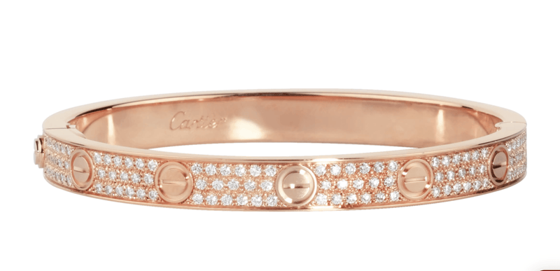 Cartier LOVE Bracelet - Happy Jewelers Fine Jewelry Lifetime Warranty