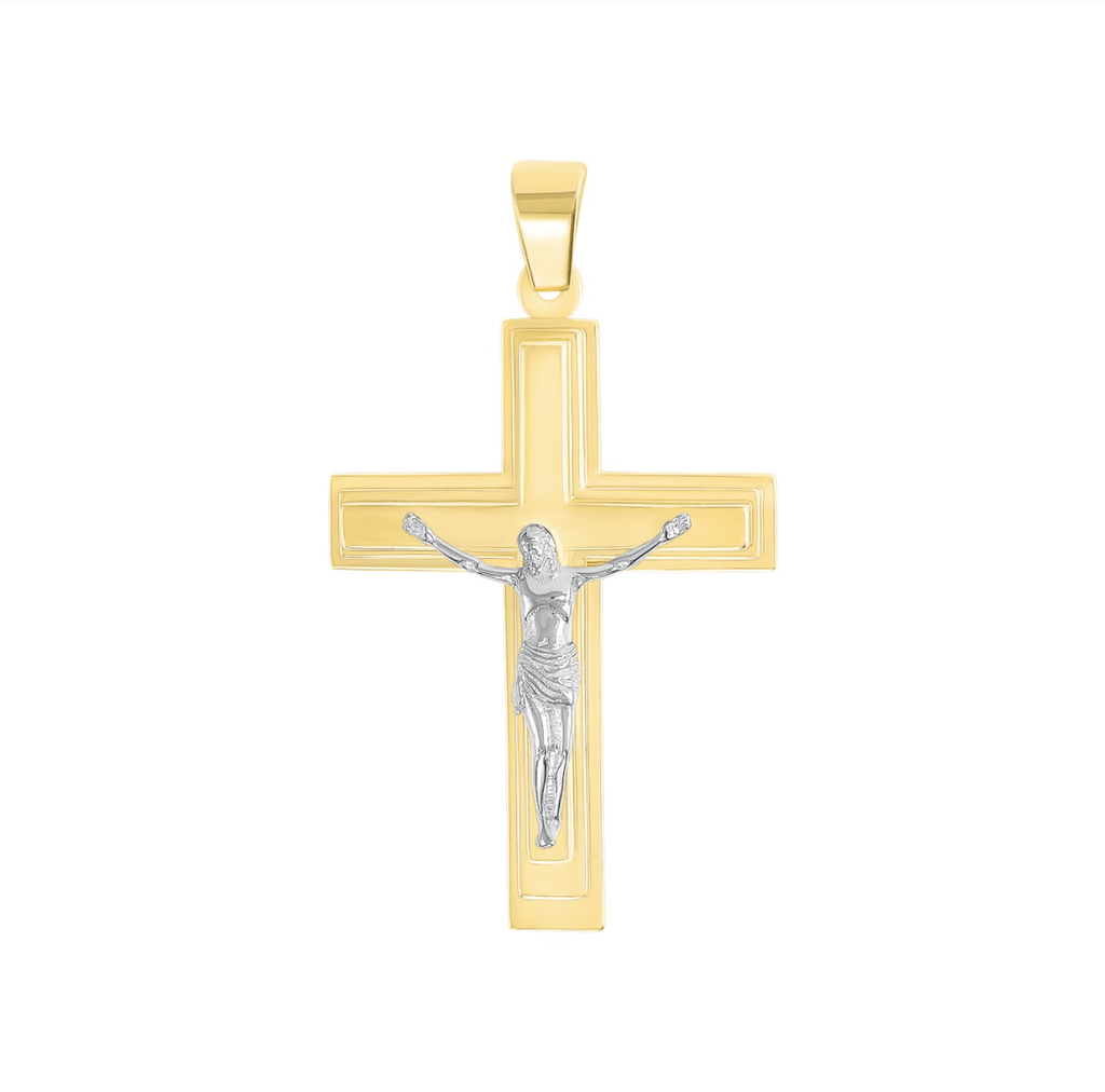 Large Cross Pendant - Happy Jewelers Fine Jewelry Lifetime Warranty