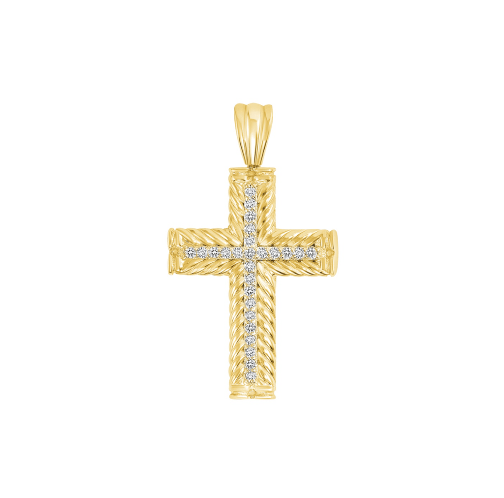 Petite Cross Pendant - Happy Jewelers Fine Jewelry Lifetime Warranty