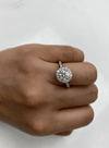 1.12 Round Engagement Ring | H color SI2 clarity - Happy Jewelers Fine Jewelry Lifetime Warranty