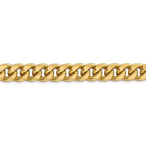 11.50mm Miami Cuban Chain - Happy Jewelers Fine Jewelry Lifetime Warranty