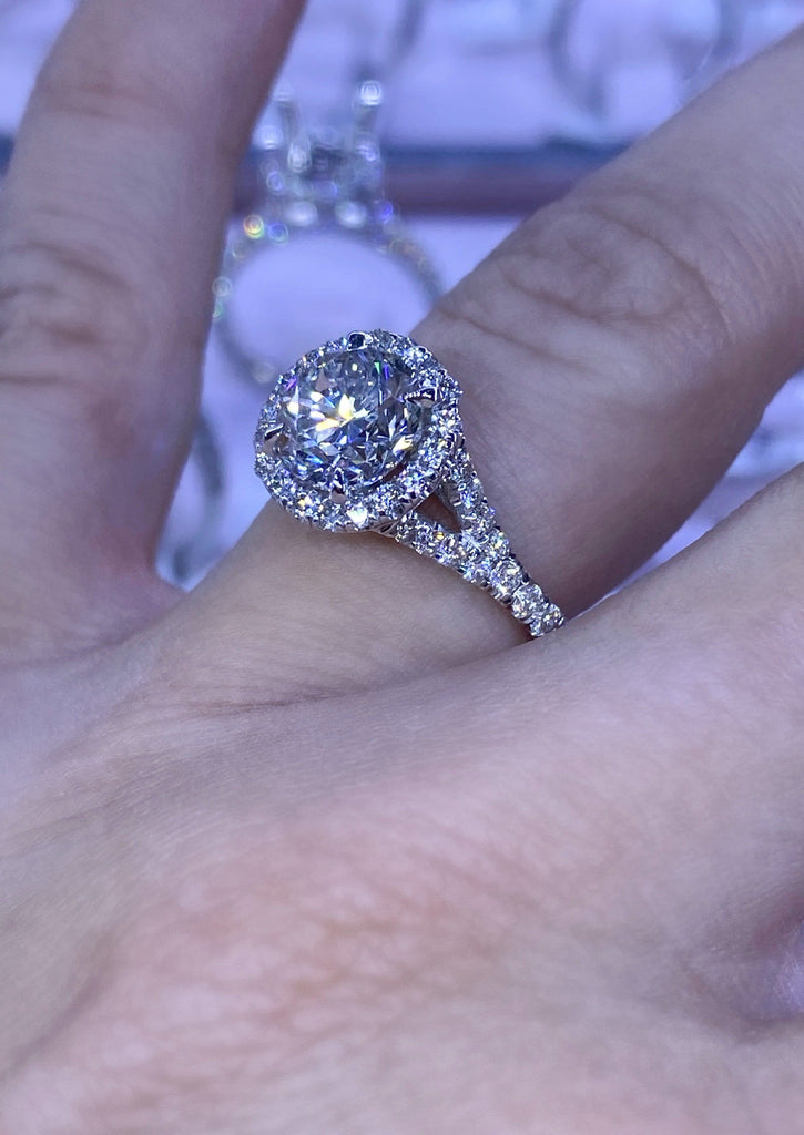 Engagement Ring Wednesday 1.50 Round Brilliant Diamond - Happy Jewelers Fine Jewelry Lifetime Warranty