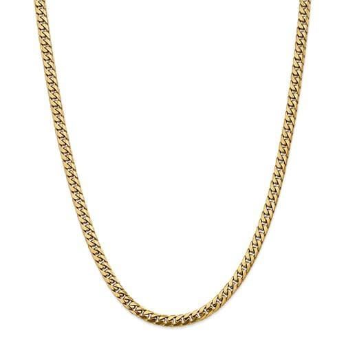 5.00mm Miami Cuban Chain - Happy Jewelers Fine Jewelry Lifetime Warranty