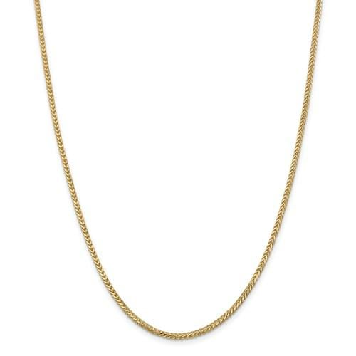 1.50mm Franco Chain - Happy Jewelers Fine Jewelry Lifetime Warranty