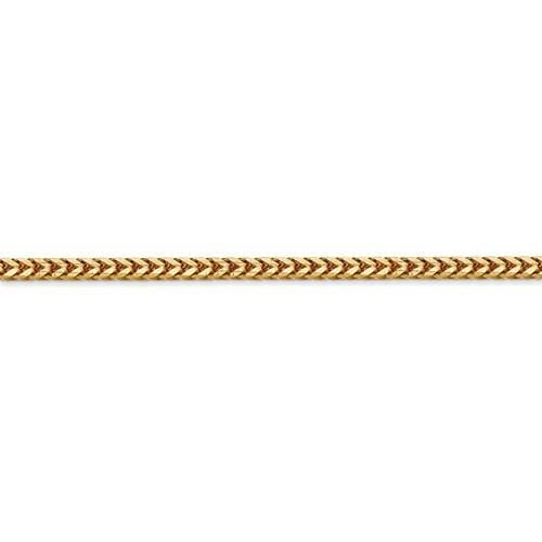 2.50mm Franco Chain - Happy Jewelers Fine Jewelry Lifetime Warranty