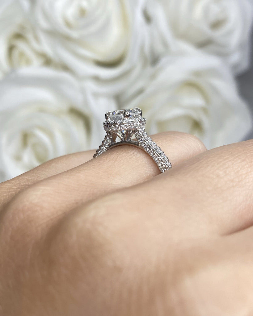 Engagement Ring Wednesday 1.00 Round Diamond - Happy Jewelers Fine Jewelry Lifetime Warranty