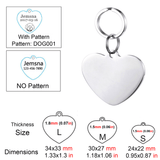 Personalized Pet ID Tag<br>[Heart] - My Best Paw