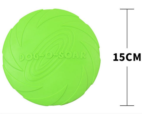 Rubber Frisbee for Dogs [Hours of Fun]