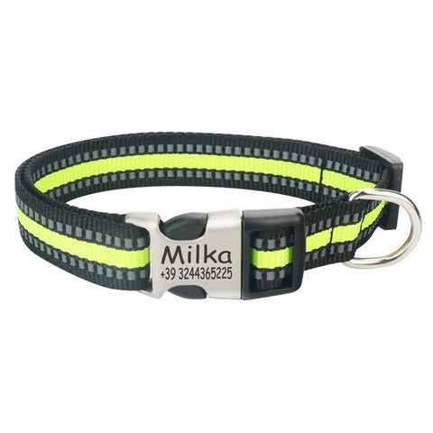 Reflective Dog Collar<br>[Customized] - My Best Paw