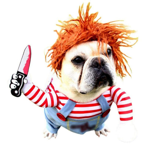 Chucky Halloween Costume for Dogs - My Best Paw