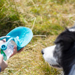 Portable Dog Water Bottle [More Water, Same Size]