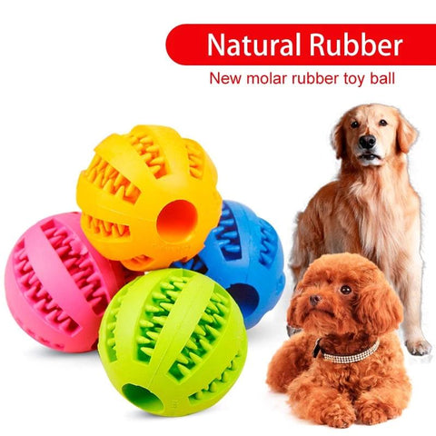Interactive Rubber Balls<br>[Fetching With Treats] - My Best Paw