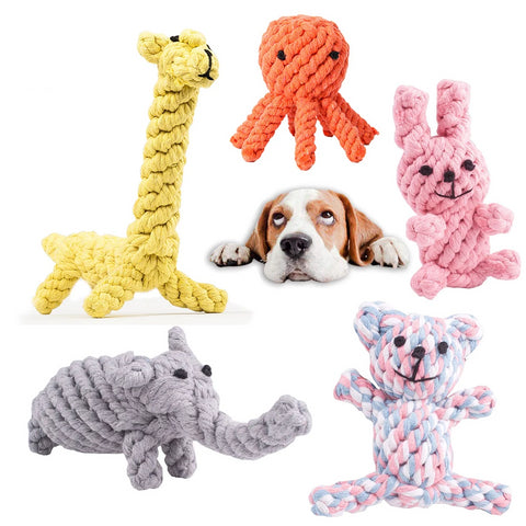 Rope Toys [Animals Design]