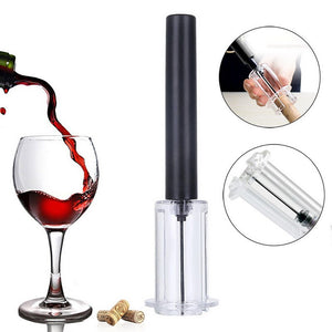 Red Wine Opener Air Pressure Cork Popper Bottle Pumps Corks Corkscrews Screw US