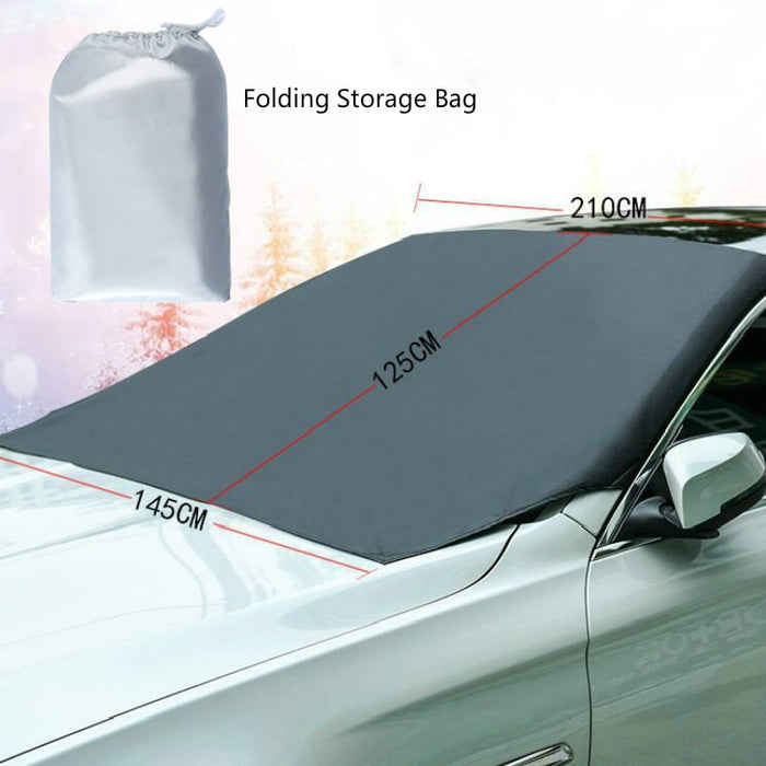 UNIVERSAL PREMIUM WINDSHIELD SNOW COVER SUNSHADE (50% OFF 🔥 BLACKFRIDAY)