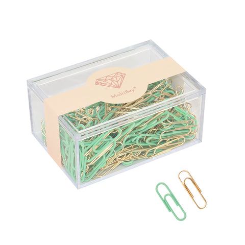 Assorted Color Paper Clips Medium 28mm