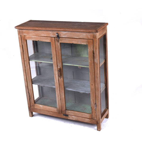 Vintage 2 Door Display Cabinet