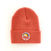 BE HAPPY CORAL INFANT/TODDLER BEANIE