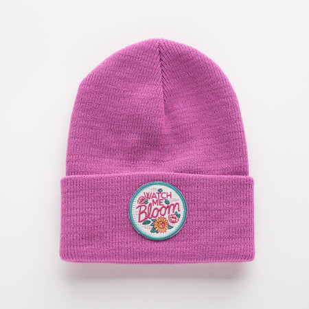 WATCH ME BLOOM INFANT/TODDLER BEANIE