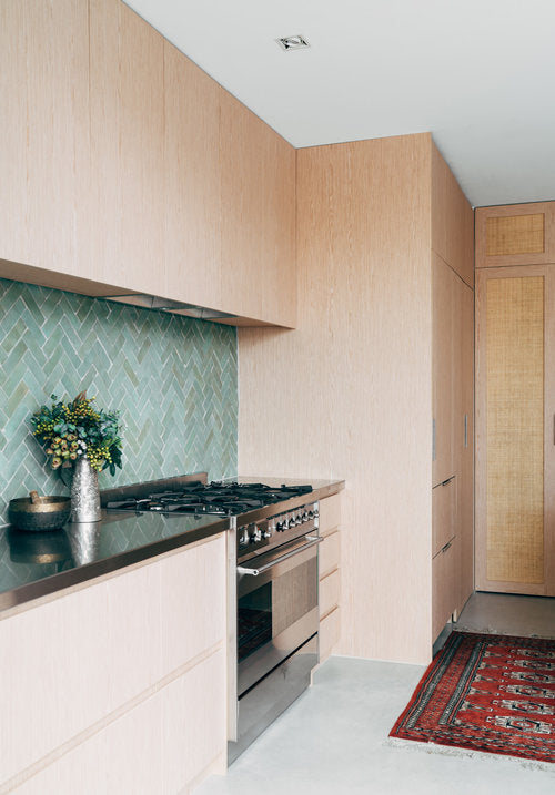 How to incorporate colour in the kitchen