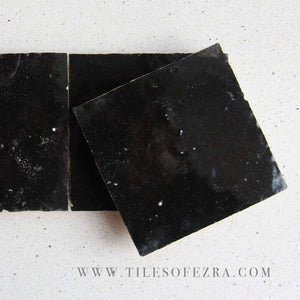 Black Individual Tile sample