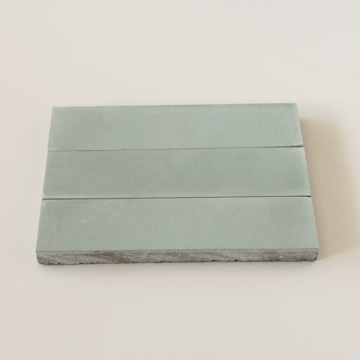 Spearmint cement Individual Tile Sample