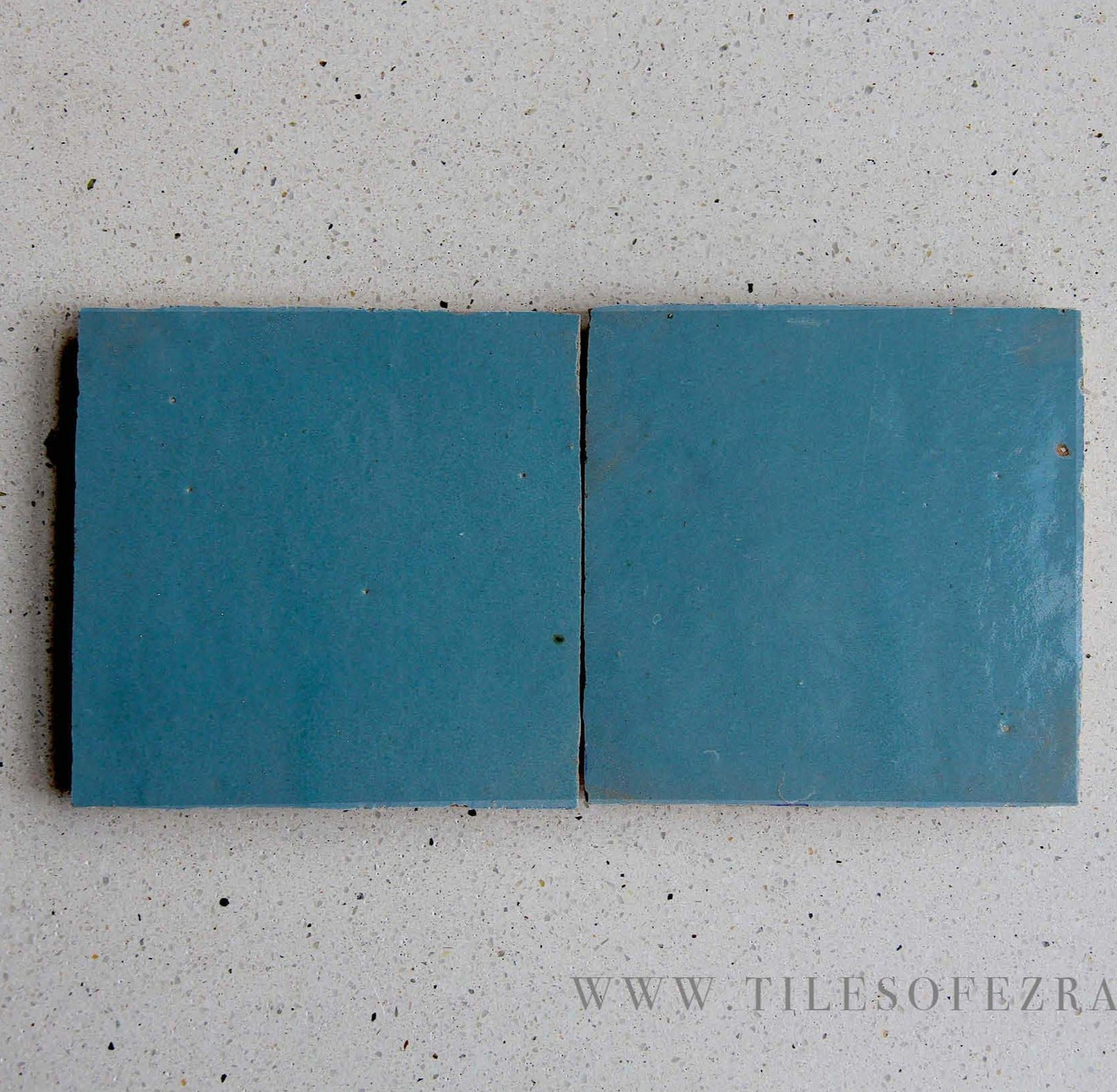 Teal Individual Sample Tile