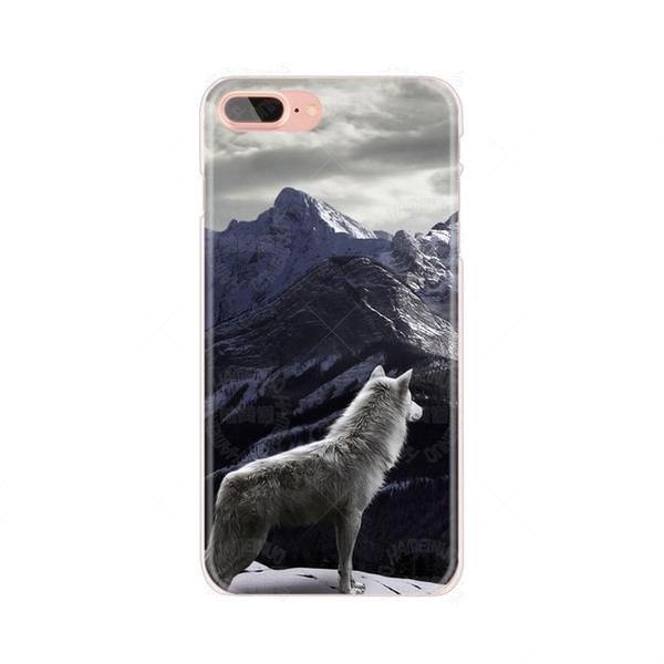 Wold and Mountains Cover for iPhone