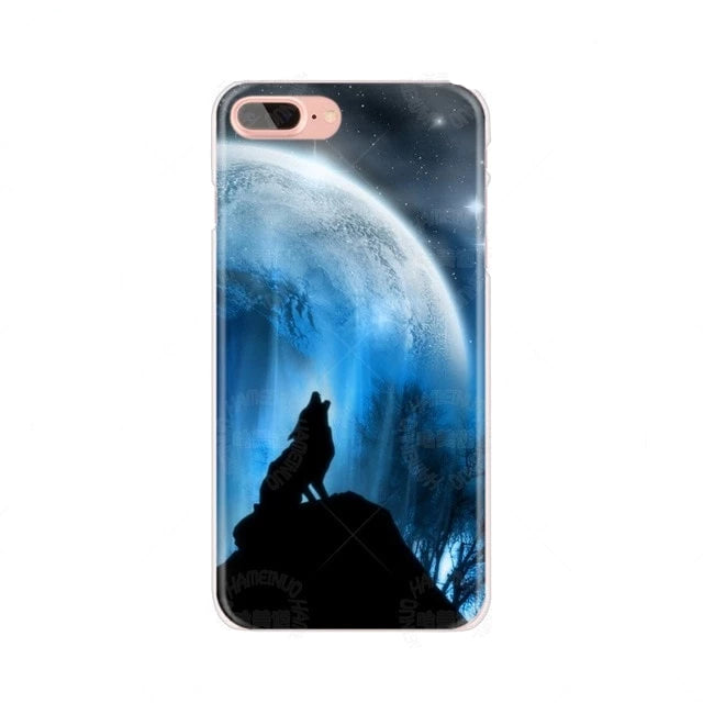 The Howling of The Wolf Cover for iPhone