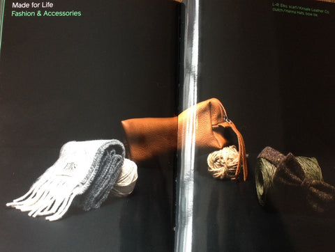 Kinsale Leather featured by Showcase Ireland Magazine 2016