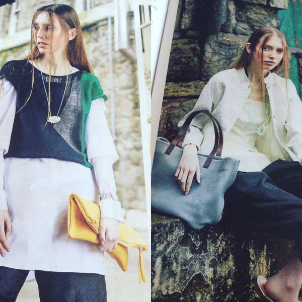 Kinsale Leather in Examiner Carolyn Moore stylist