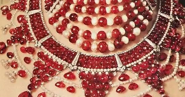 The Ruby Patiala Choker
