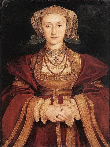 Betrothal portrait of Anne of Cleves, 1539.
