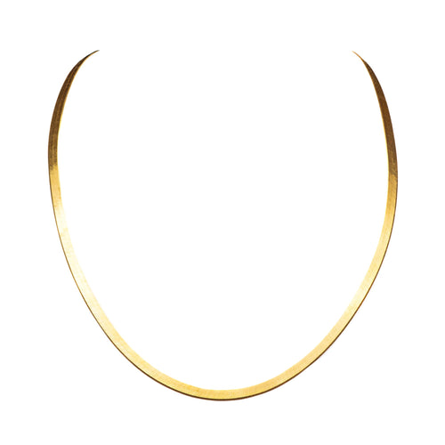 THE HERRINGBONE NECKLACE - The Moonstoned