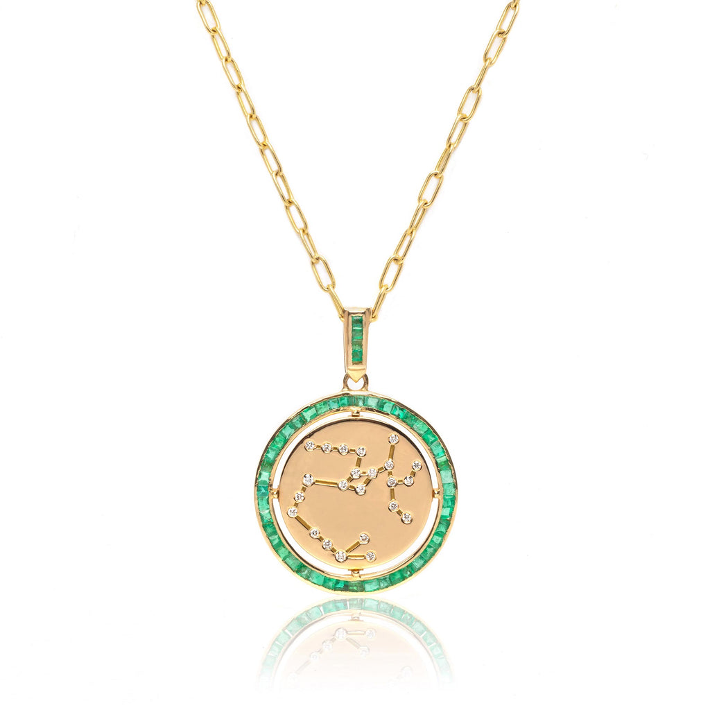 THE ZODIAC CONSTELLATION COIN NECKLACE