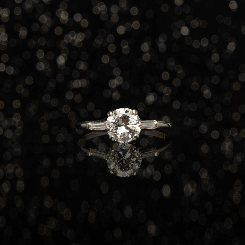 THE VINTAGE 1.08ct CLEAN LINES RING