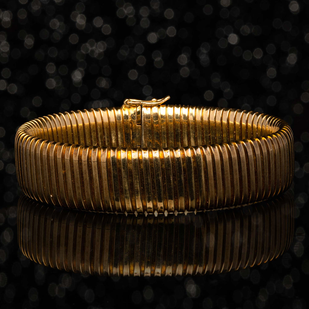 THE GOLD GASPIPE BRACELET