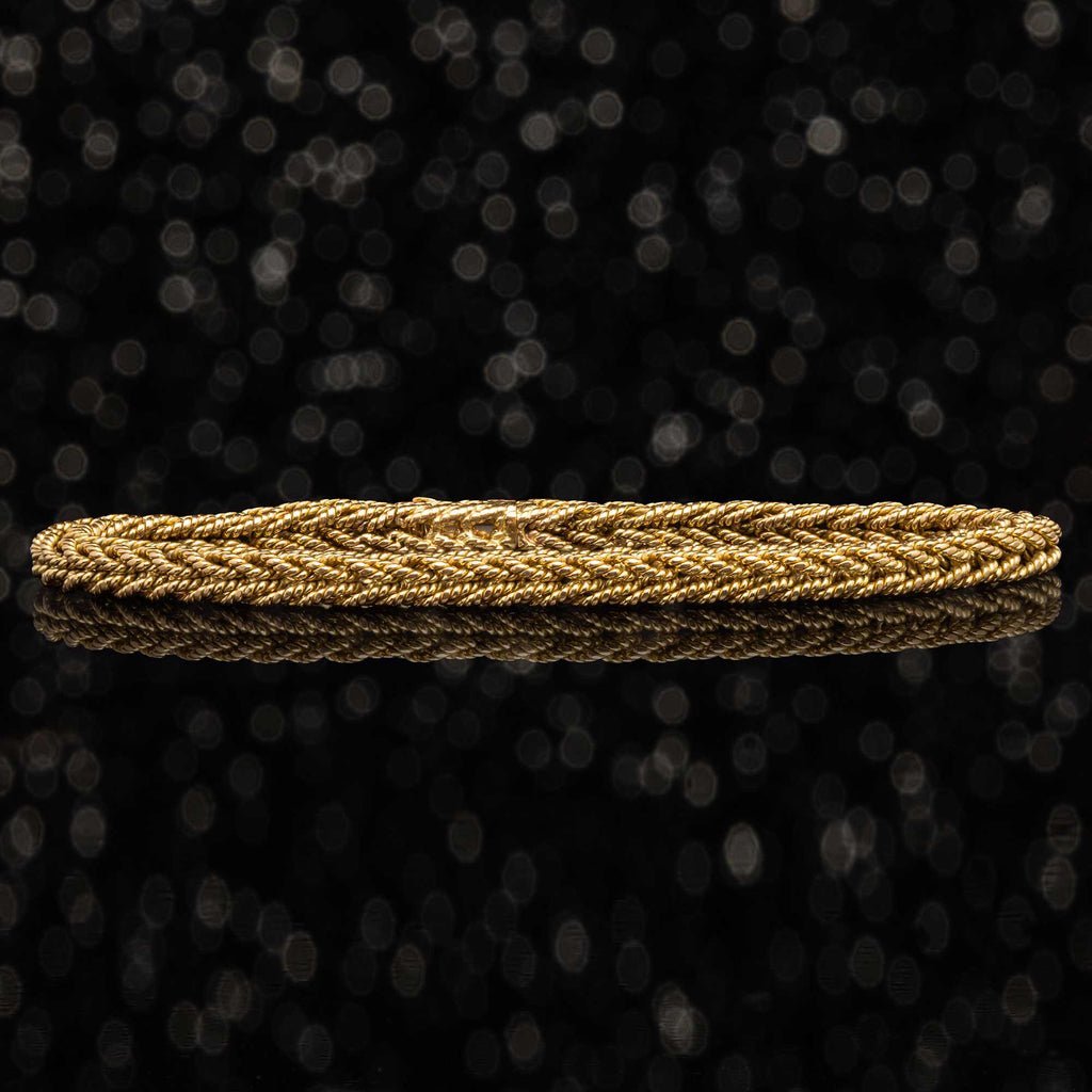 THE VINTAGE BRAIDED ROPE BRACELET