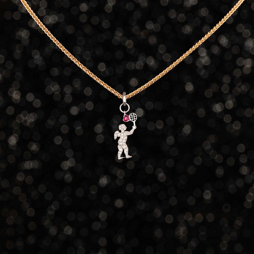 THE CARTIER CUPID SERVING LOVE CHARM
